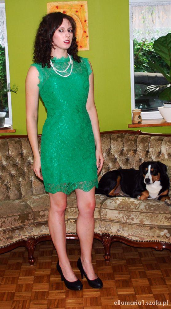 Eleganckie Elegancko w zieleni