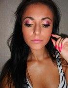 kolorowy wesoły make up