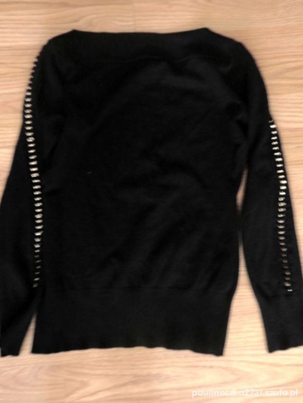 sweterek z łancuszkami uniwer do xxl