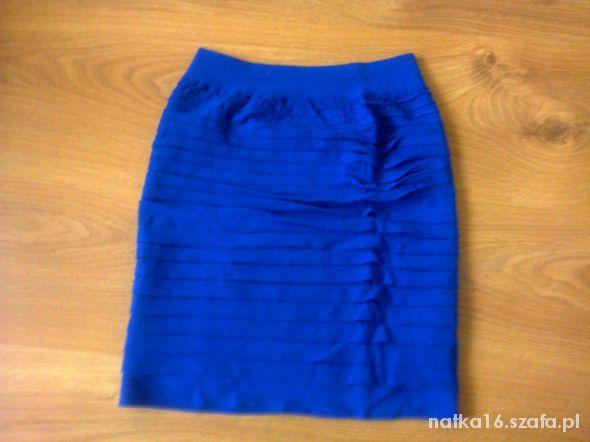 Spódnice kobaltowa mini