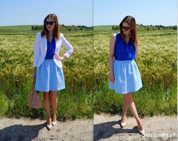 Blogerek niebiesko