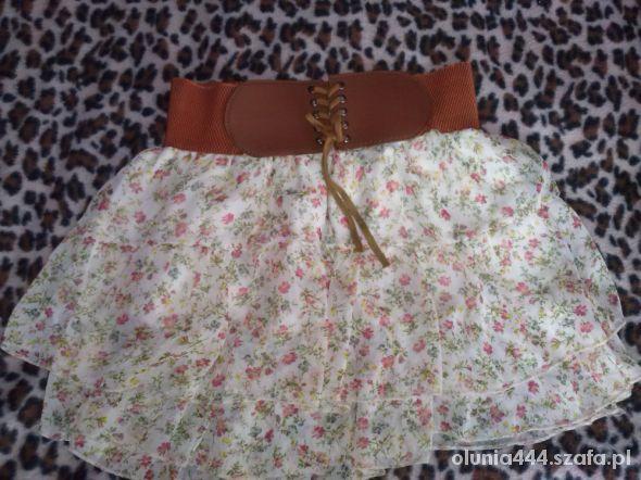 Spódnice floral wyprzedaz letnia
