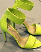 Limonkowe żółte