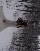 suknia zimowa