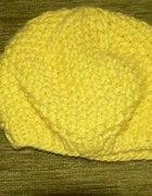czapka neonowa żółta topshop limonkowa