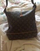Torebka torba LV Louis Vuitton brązowa monogram