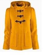 żółty płaszczyk H&M