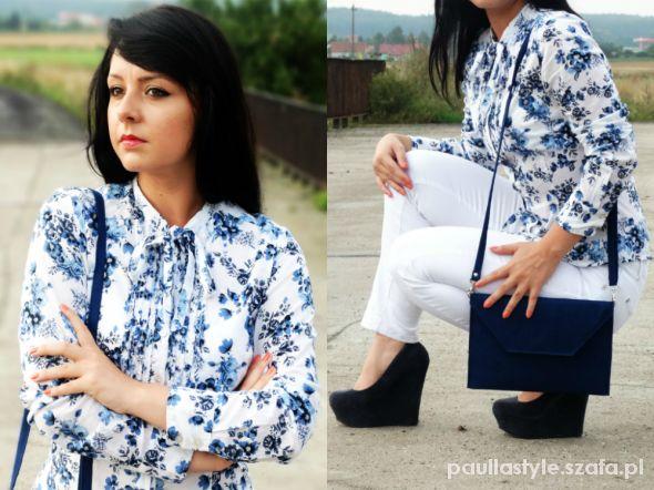 Mój styl BLUE & WHITE