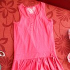 różowa sukienka rozm 146 152