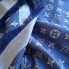 Chusta Louis Vuitton Niebieska