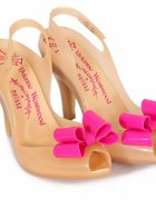 Vivienne Westwood for Melissa Lady Dragon nude bow...