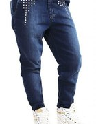 Carrot Jeans Blue...