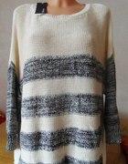 cudny sweterek oversize