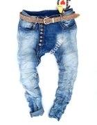 jeansy baggy boyfriend guziki