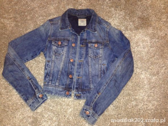 Kurtka jeansowa Pull&Bear Bershka