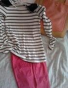 różowe spodnie w roli głównej