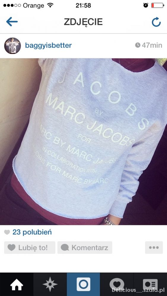 Bluza Marc Jacobs...