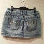 Spódniczka mini spódnica dżinsowa roz S