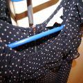 Mgiełka w groszk New Look z Zipem