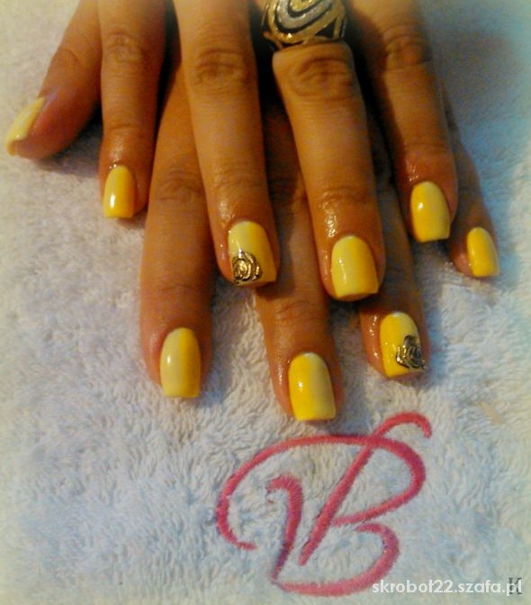 Ombre yellow