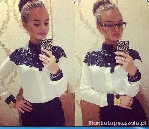 black white white black