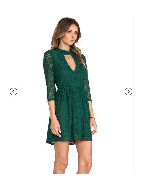 Romantyczne Green SHEINSIDE dress