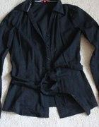 Czarna koszula XS croop