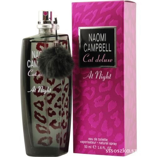 Naomi Campbell Cat Deluxe at night 50ml TESTER...