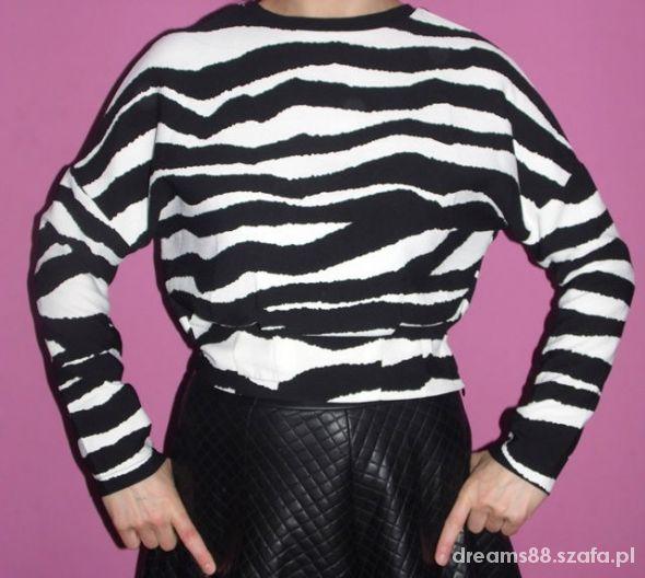 bluzka zebra XS S