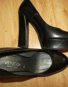 Venezia czarne 37 jak nowe