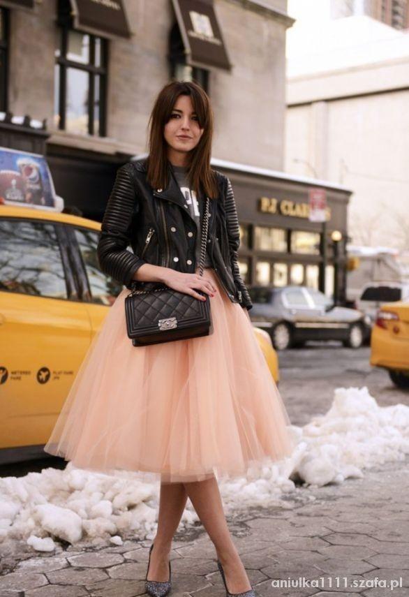 Eleganckie Spódnica tiulowa