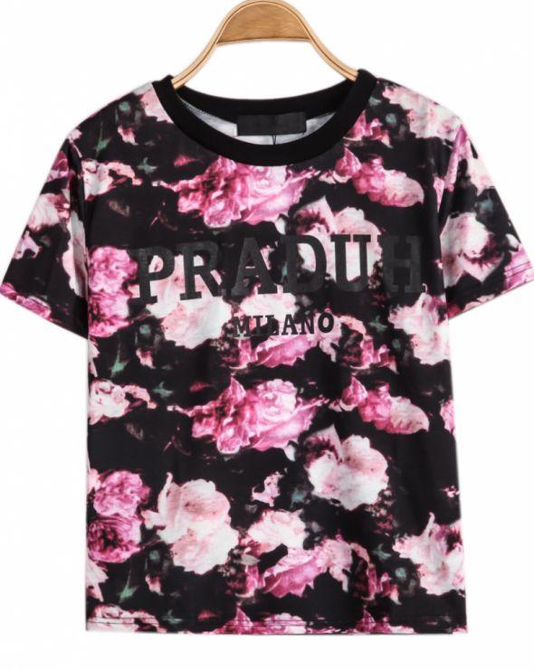 koszulka floral