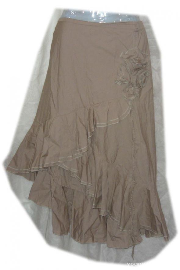 Spódnice fantazyjna spódnica hiszpanka kwiat per una 46 48