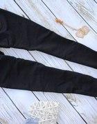 legginsy ala spodnie zlote zipy ML