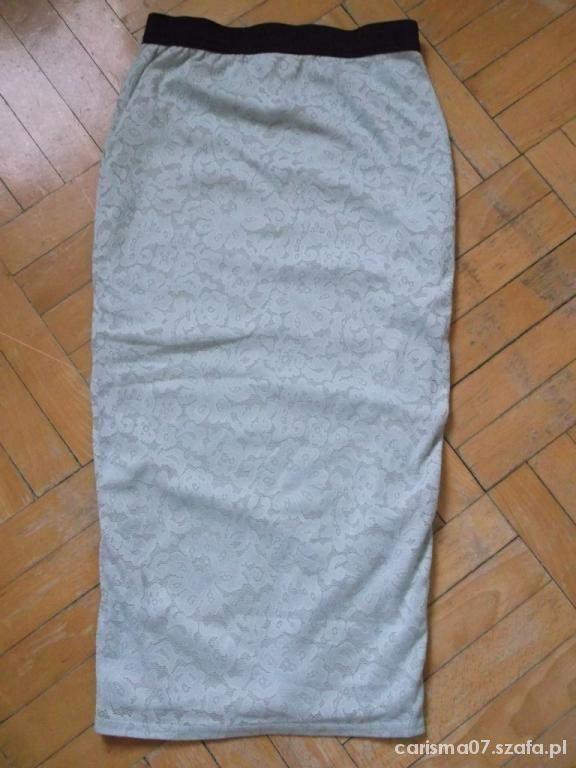 Spódnice koronkowa spodnica spodniczka mietowa NEW LOOK