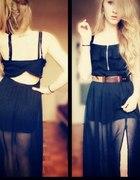 Sukienka długa czarna...