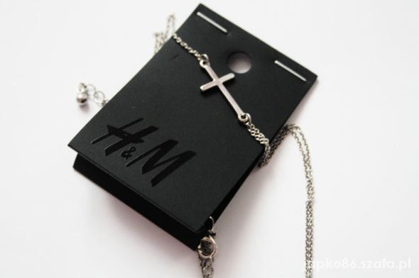 H&M piękny naszyjnik