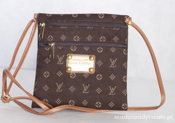 Torebka Louis Vuitton brązowa