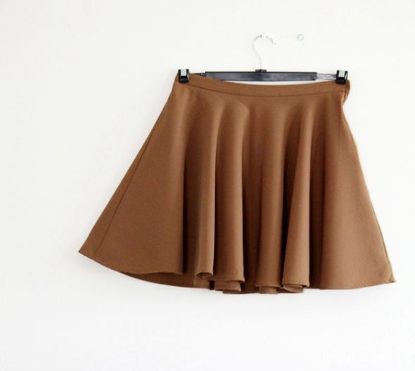 Spódnice H&M spódnica rozkloszowana z koła