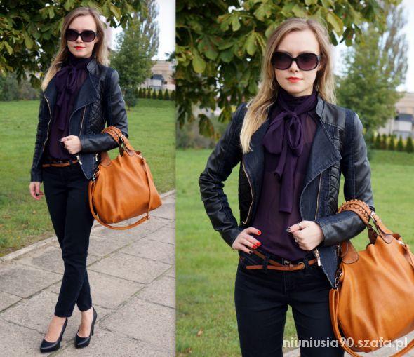 Peplum & Black Outfit