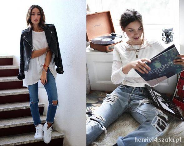 Mój styl Boyfriend Jeans