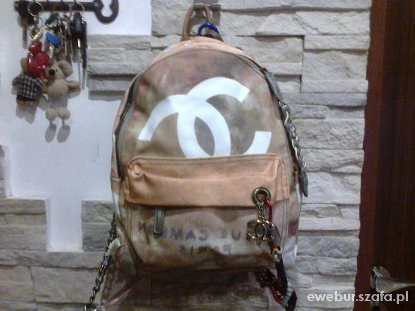 Plecaki plecak chanel graffiti