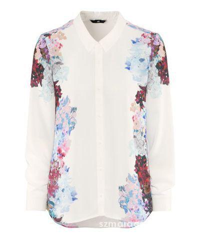 H&M koszula kwiaty floral lana del ray