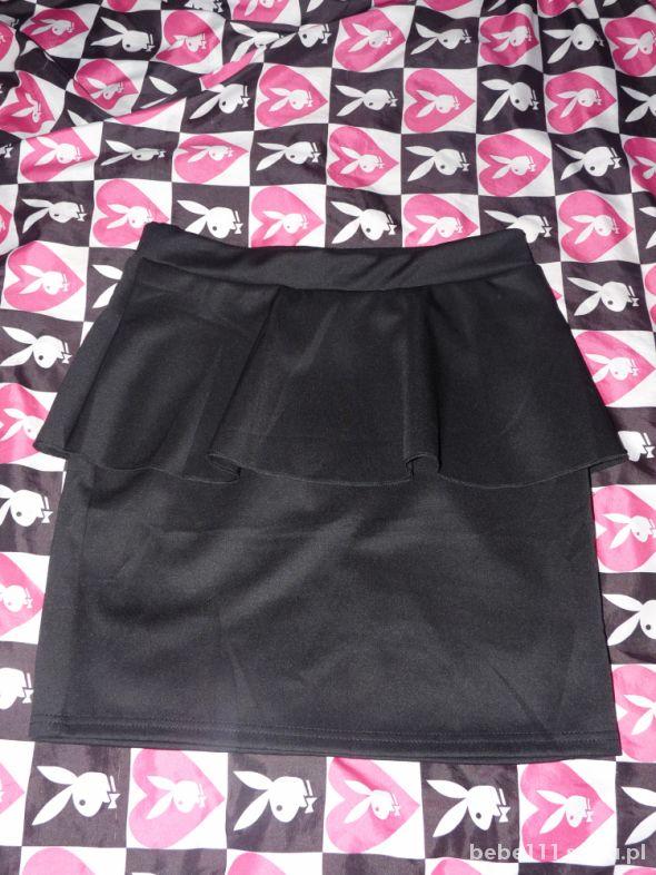 Spódnice spódnica na talię z baskinką nieużywana