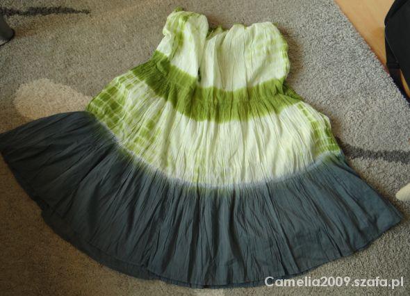 Spódnice Spódnica maxi ombre M