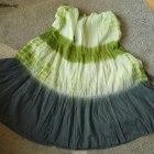 Spódnica maxi ombre M