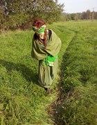 Zielone zamotanie