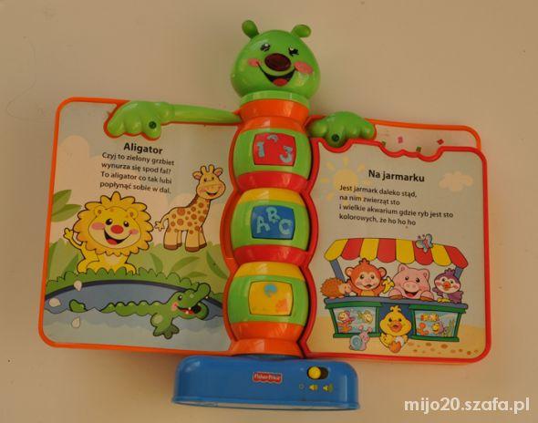 Zabawki Książeczka rymowanka Fisher Price pl