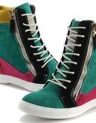Kolorowe buty