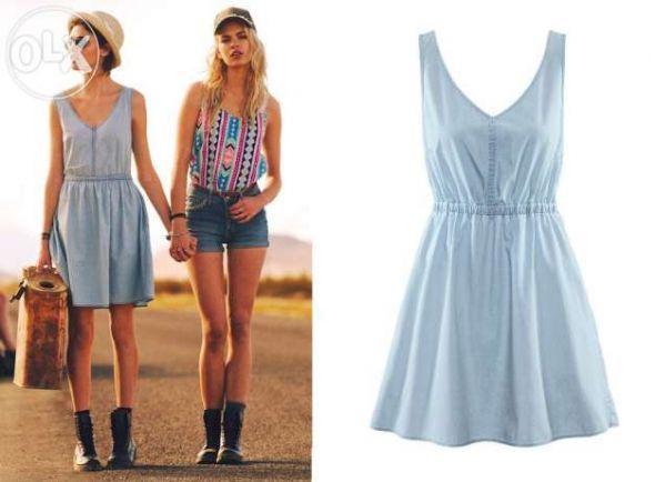 6190be1e76 sukienka jeansowa hm 36 w Suknie i sukienki - Szafa.pl